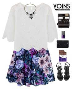 """""""Flower Yoins"""" by genesis129 ❤ liked on Polyvore featuring Polaroid and NARS Cosmetics"""