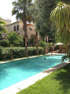 Gardens of Al Kantara Riad | Fes, Morocco