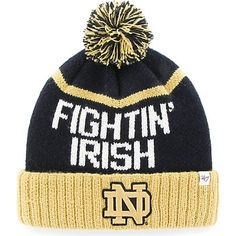 Product: University of Notre Dame Cuffed Knit Hat