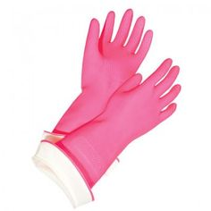 Cosabella gloves, because all others tear pretty quickly and I hate getting my hands wet!