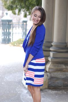 Pink Slate Boutique - Life of the Party Blazer (Royal Blue), $36.00 (http://www.pinkslateboutique.com/life-of-the-party-blazer-royal-blue/)