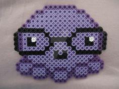 Nerdy Octopus by PerlerHime on DeviantArt