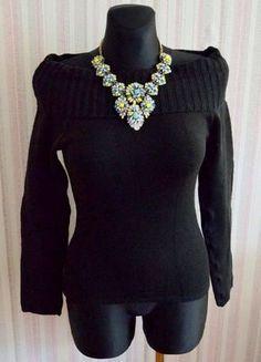 Įsigyk mano drabužį #Vinted http://www.vinted.lt/moteriski-drabuziai/megztiniai-aukstu-kaklu/22365285-stilingas-siltas-juodos-spalvos-megztinis