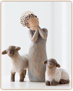 Little Shepherdess - WillowTree.com. WANT