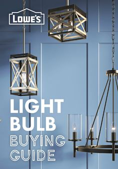 Find which bulbs can create the perfect lighting for your home.