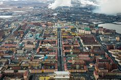 Biggest Northernmost Russian City From Above | English Russia