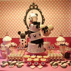 Minnie . Swett Table.   www.alessandracakes.com