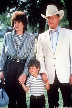 We're just one big happy family - JR Ewing