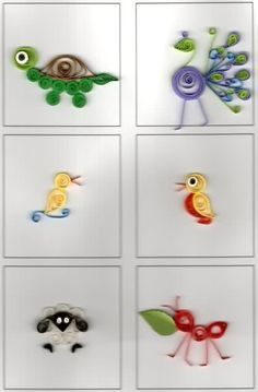 quilling for kids room - Google Search
