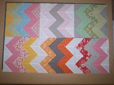 zig zags -color palette