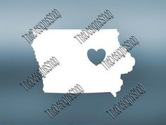 Iowa Home State Svg Dxf Pdf Jpg Cut File  Iowa by TheDesignsShop