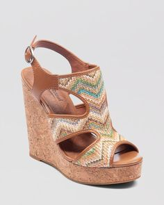 Lucky Brand Wedge Platform Sandals. I just bought these and I'm in love.