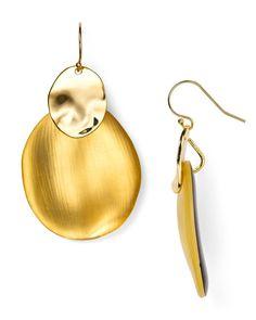 Alexis Bittar Lucite Small Liquid Chip Drop Earrings