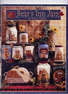 BEAR'S INN JARS - giga artes country - Álbuns da web do Picasa... Free book!!