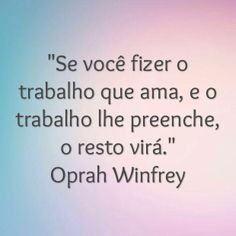 Oprah Winfrey | trabalho