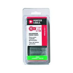 Enjoy the Porter-Cable x in. Galvanized Steel Finish Nails fit in most type straight finish nailers at The Home Depot