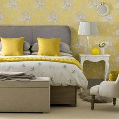 Grown-up vintage look | Vintage bedrooms | PHOTO GALLERY | Ideal Home | Housetohome.co.uk