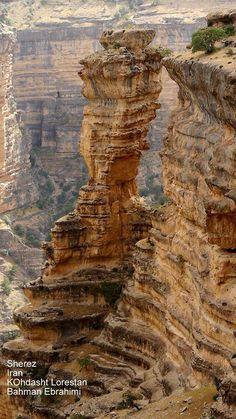 تنگه شیرز / کوهدشت / لرستان Iran /Lorestan /Kuhdasht /Shiraz canyon با تشکر از عکاس :بهمن ابراهیمی