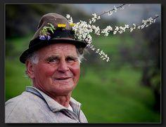 A villager in Maramure - Mark Sherman.