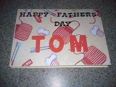 Tom's Father's Day Card