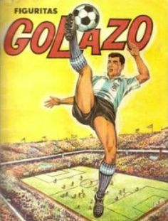 Album Figuritas Golazo Tarjetones 1965