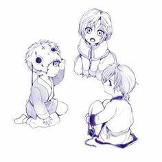 Ki-Ja, Shin-Ah and Jae-Ha - Akatsuki no yona