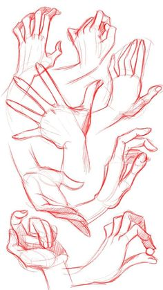 Ideas Drawing Pencil Sketches Hand Reference For 2019 Anatomy Sketches, Anatomy Drawing, Anatomy Art, Art Drawings Sketches, Hand Drawings, Drawings Of Hands, Hand Anatomy, Sketches Of Hands, How To Draw Sketches