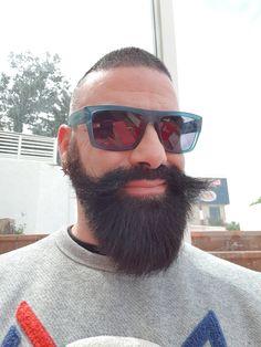 Grey Beards, Beard Styles, Moustache, Big Beard, Mens Sunglasses, Boyfriend, Hairstyle, Beard Care, Guys