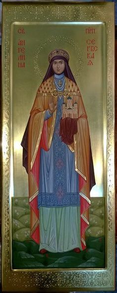 St Angelina of Serbia  /