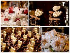 Camila e Alessandro - Doces - Docinho - Casamento - Chocolate para casamento - Decoração de docinho - Wedding - Wedding Desserts - Docinho com pérola - Docinho de cereja