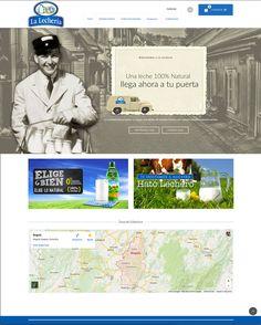 Sitio web La Lecheria ©2015