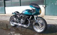 Suzuki Inazuma Cafe Racer by Giancarlo Rauso of Ironbike Garage #motorcycles #caferacer #motos | caferacerpasion.com