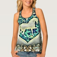 #photo - #Beautiful Horse Tank Top