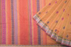 Ethicus Handwoven Organic Cotton Sari 1019680