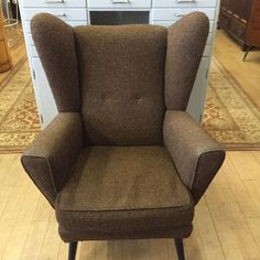 Armchair, Mid Century, Chairs, Lounge, Projects, Furniture, Home Decor, Womb Chair, Airport Lounge