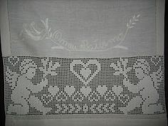 Filet Crochet, Crochet Placemats, Crochet Angels, Doilies, Needlework, Diy And Crafts, Projects To Try, Cross Stitch, Pattern