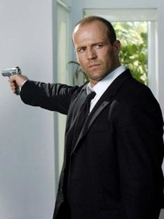 Jason Statham.....Maybe I find him to be hot because he reminds me of my hubby......I have a sexy hubby ;)