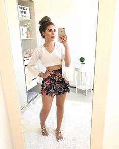 Moda Juvenil Vestidos Casual For 2019 Casual Dress Outfits, Trendy Dresses, Short Outfits, Simple Outfits, Spring Outfits, Trendy Outfits, Cute Outfits, Fashion Outfits, Vetement Fashion