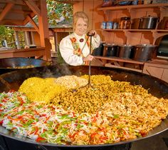 Giant Skillet Meals. just one tradition in Silver Dollar City. My fave! (This is the picture only. Recipe is in the next pin)