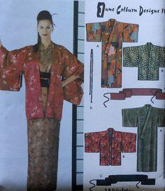 Kimono and Hadri Sewing Pattern