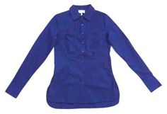 Laundry By Shelli Segal Navy Blue Dark Midnight Shirt Blouse Button Down Shirt. Get the lowest price in town on this fabulous Laundry by Shelli Segal  button-down shirt in Navy blue and other colors too! Tradesy makes designer fashion affordable and fun. Shop now