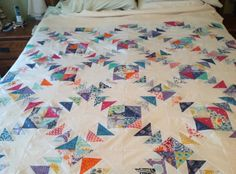 Flying Geese Blocks from http://www.craftsy.com/blog/2013/04/stitch-and-flip-tutorial/?ext=20130428_Quilting_Blog1_source=Craftsy-Quilting_medium=Sunday_NL_campaign=Craftsy%20Emails%20and%20Promos