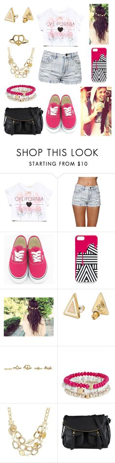 """▶ STARBUCKS with Ashton ◀"" by lucybitch ❤ liked on Polyvore featuring Forever 21, Kendall + Kylie, Vans, Jordan Carlyle, Leslie Danzis and ALDO"
