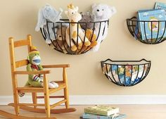 Creative Storage Solutions For Messy Kids� Toys via @PureWow