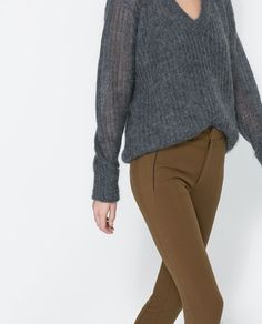 ZARA - NEW THIS WEEK - LEGGING STYLE TROUSERS