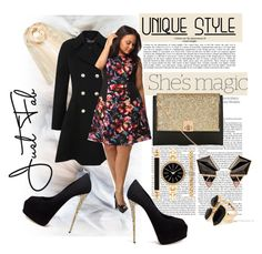 Plus size can be also sexy by ina-kis on Polyvore featuring polyvore fashion style Maggy London Miss Selfridge Giuseppe Zanotti Style & Co. Nak Armstrong River Island Brunello Cucinelli Nicole