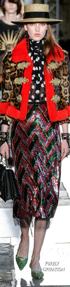 Gucci Resort 2017 Women's Fashion RTW | Purely Inspiration