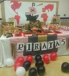 Ideas para una Fiesta de Piratas para Niños Pirate Birthday, Pirate Party, Baby Birthday, Crafts For Kids, Diy Crafts, Ideas Para Fiestas, 4th Birthday Parties, Birthday Ideas, Shop Plans