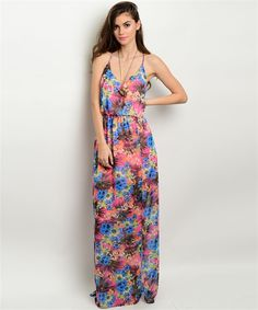 """Dreaming In Color"" Maxi Dress"