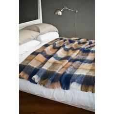 land mohair throw by avoca